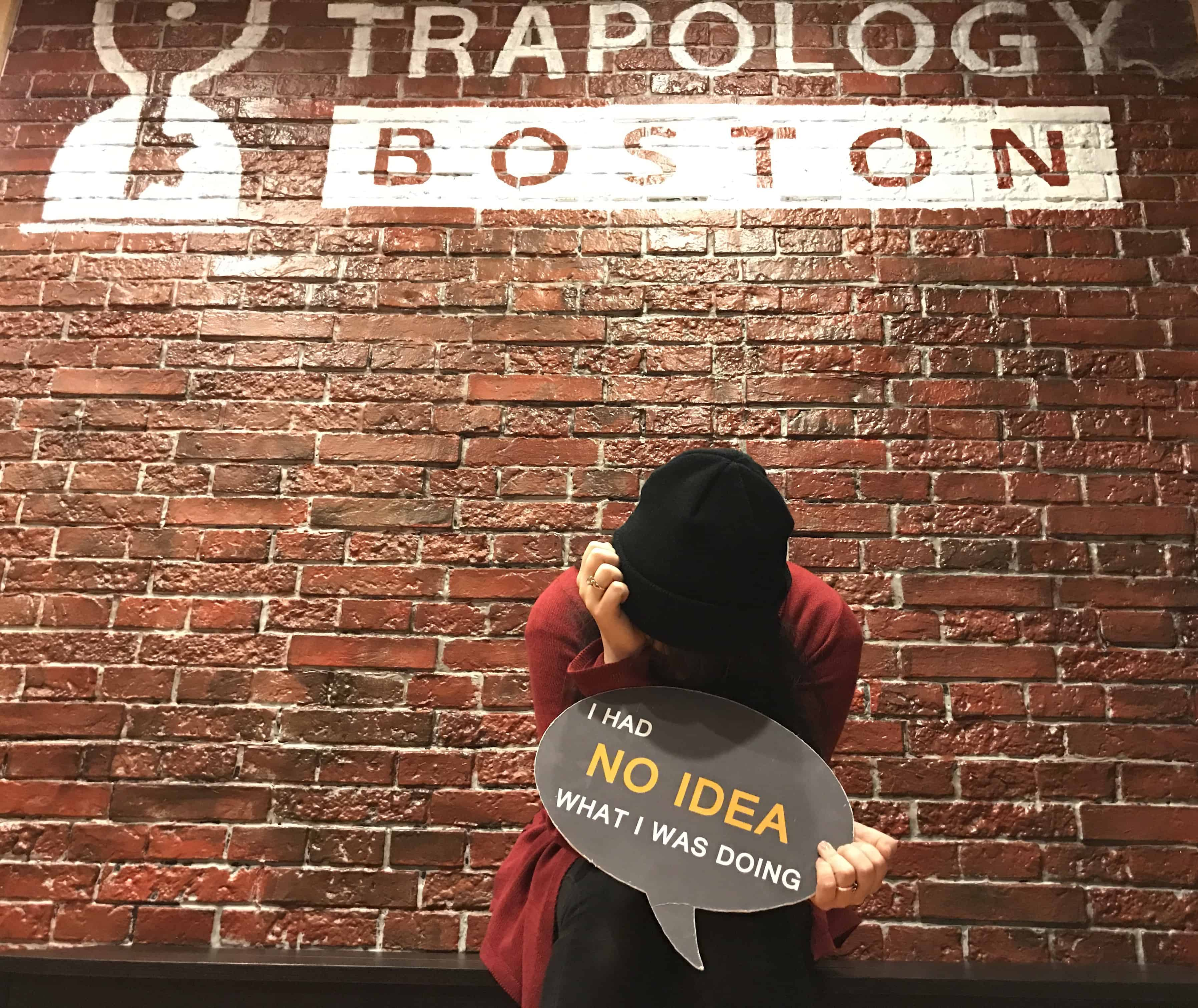 Trapology Boston escape game players' regrets