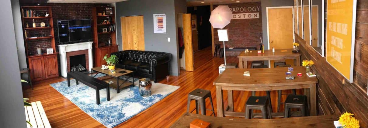 Welcoming lobby a story of trapology boston 39 s shift from for Escape room design